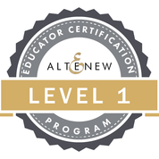 Altenew Educator Level 1 Certified - 2018