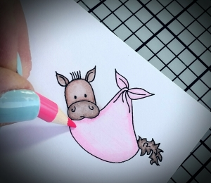 Congrats on your new little... Filly! by Dances With Hooves Paper Design https://danceswithhooves.wordpress.com